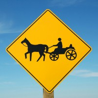 Horse and Cart (Square)