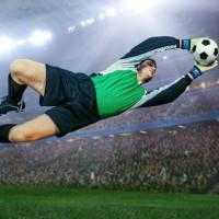 Action Bias Soccer Goalie (Square)