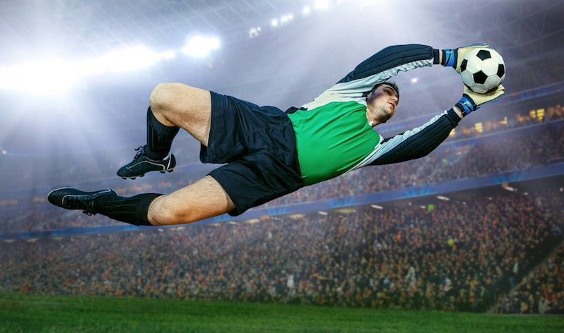 Action Bias Soccer Goalkeeper