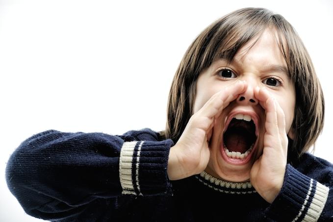 Shouting Kid - Email Alerts