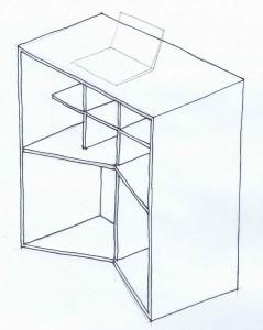 Standing Desk - Verdouw Sketch